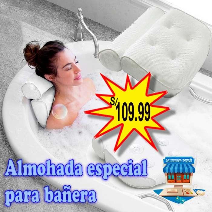Almohada especial para bañera