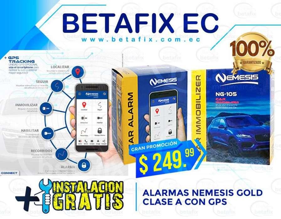 ALARMAS NORMALES GPS, BLUETOOTH VARIOS MODELOS BETAFIX