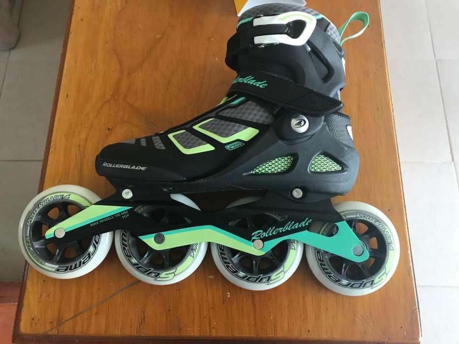 Patines Rollerblade Macroblade 100mm