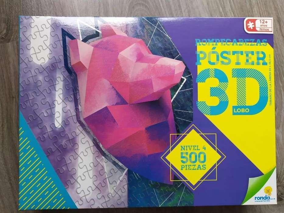 Rompecabezas 3D Poster