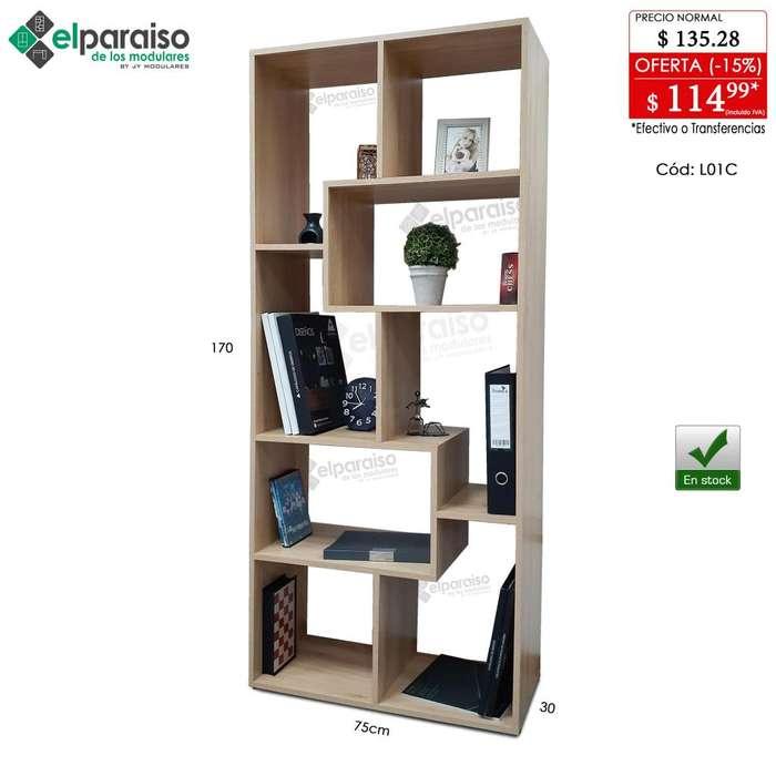 Libreros Modulares Minimalistas, multiusos, organizadores, estantería, habitación, oficina, cocina, comercio