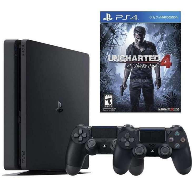 Play 4 Uncharted4 2 Controles3 Juegos