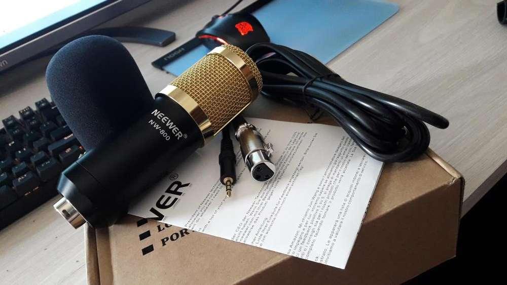 Microfono Neweer NW-800 (Nuevo)