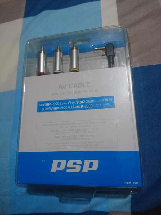 Vendo Cable de Audio Y Video Sellado <strong>psp</strong>