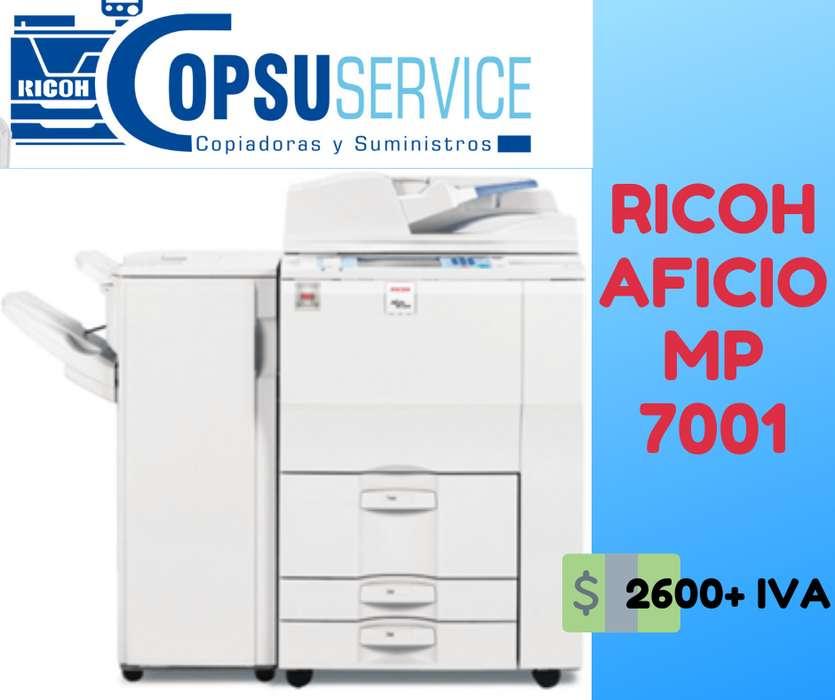 COPIADORA MULTIFUNCIONAL RICOH MP 7001
