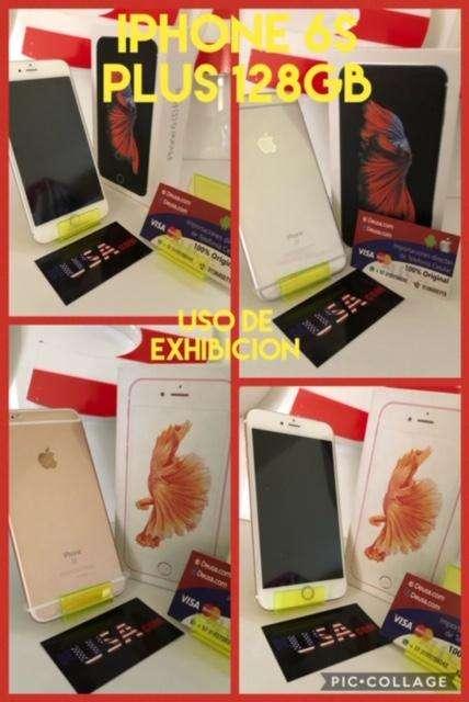 ESPECTACULAR PRECIO IPHONE 6S PLUS DE 64GB USO DE EXHIBICION GARANTIA FACTURA LEGAL