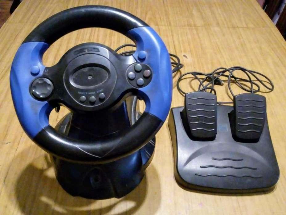 Volante pedalera PS2