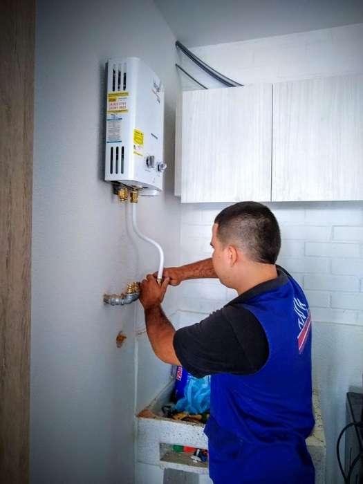 Instalación de Calentadores de Gas