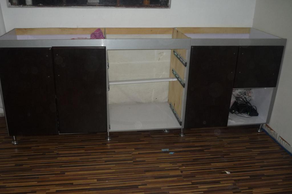 VENDO o permuto mueble de cocina sin meson color wengue - Bogotá