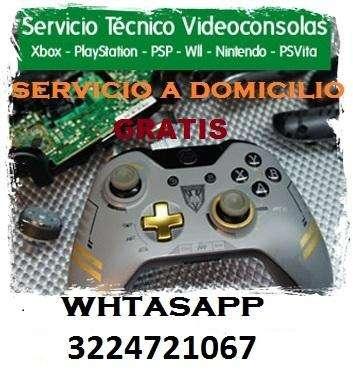 Servicio tecnico de todo tipo de control de xbox y playstation a domicilio sin ningun costo