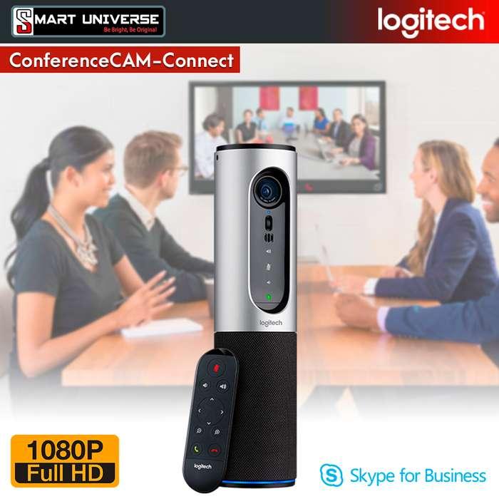 CAMARA LOGITECH CONFERENCECAM HDMI 90 Grados MICROFONO BLUETOOTH CONTROL REMOTO
