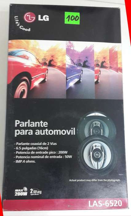 <strong>parlantes</strong> Coaxiales LG LAS6520