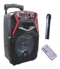 Cabina Sonido <strong>bluetooth</strong> 250 W Micrófono Control
