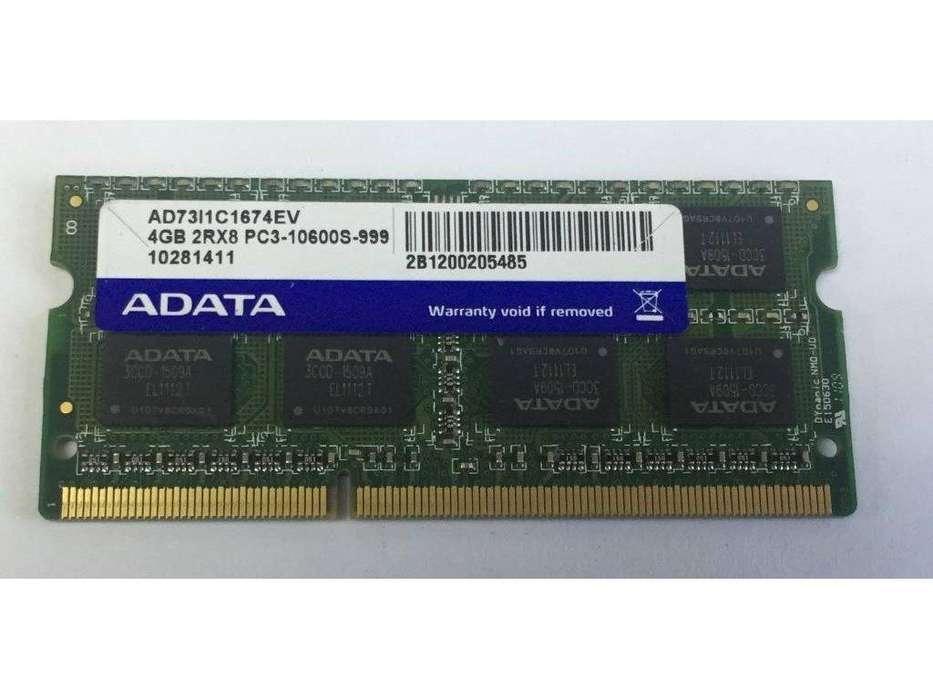Memoria Ram de 4 GB DDR3 para <strong>laptop</strong>