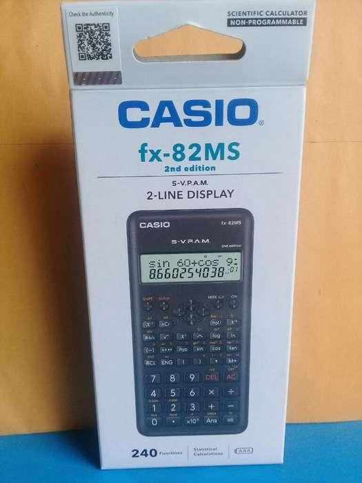 <strong>calculadora</strong> Casio Fx-82ms 2 Edition
