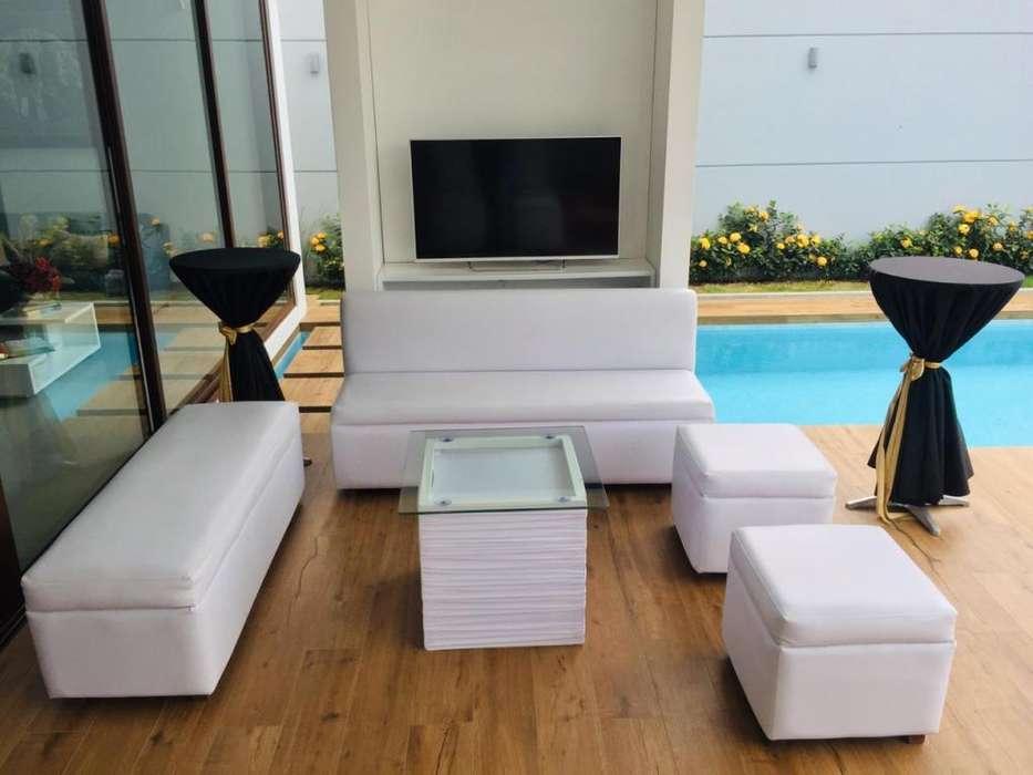 Alquiler de salas lounge , Mesas Cocteleras con licras , sillas Cocteleras y Carpas Blancas PRECIOS SUPER NEGOCIABLES! .