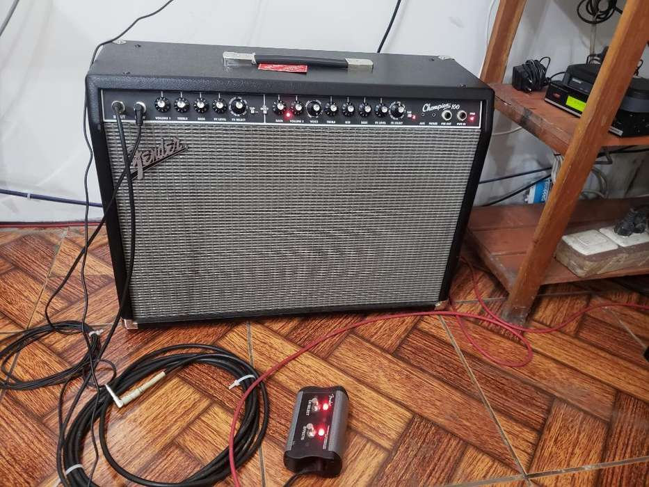 Amplificador Fender Champion 100