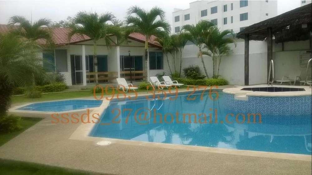 Alquilo Hermosas Casas en Tonsupa Sector Diamond Beach