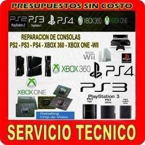 Servicio Tecnico de Consolas