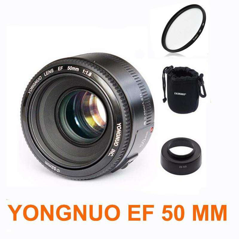 LENTE YONGNUO PARA NIKON YN50mm F1.8N LOCAL A LA CALLE