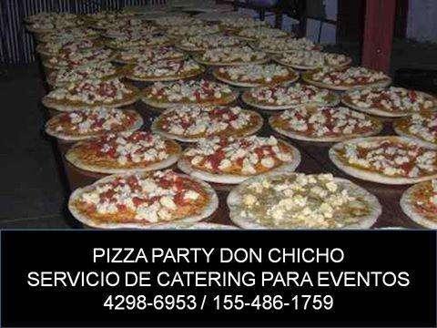 Servicio de Pizza Party para Eventos