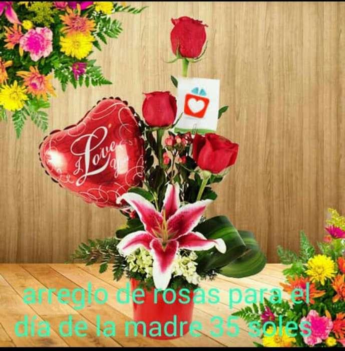 Arreglo de Flores para Día de La Madre