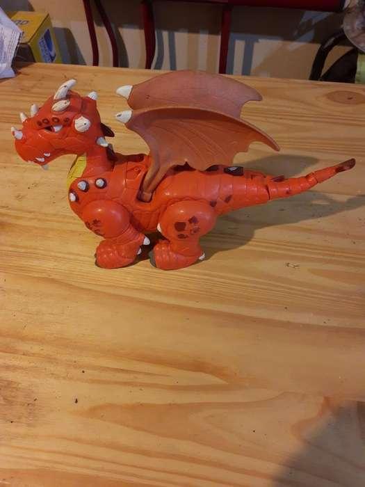 Dragón Mattel Original