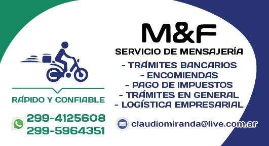 M & F Servicio de Mensajeria