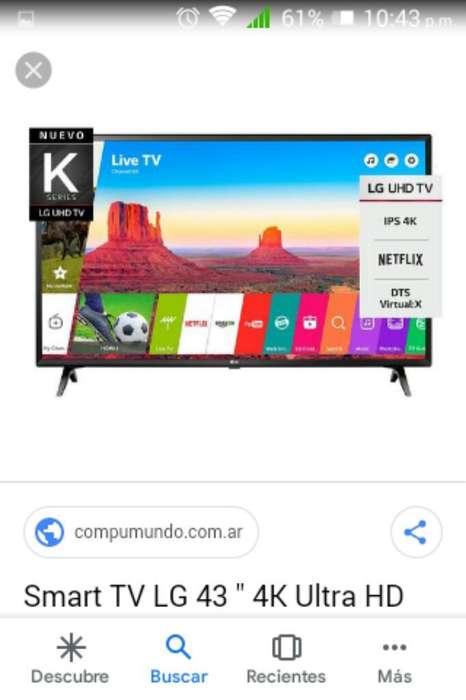 <strong>televisor</strong> Lg 43 Pulgadas 4k Uhd Nuevo