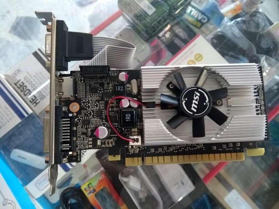 Vendo Tarjeta de Video Msi 1 Gb Ddr3 New