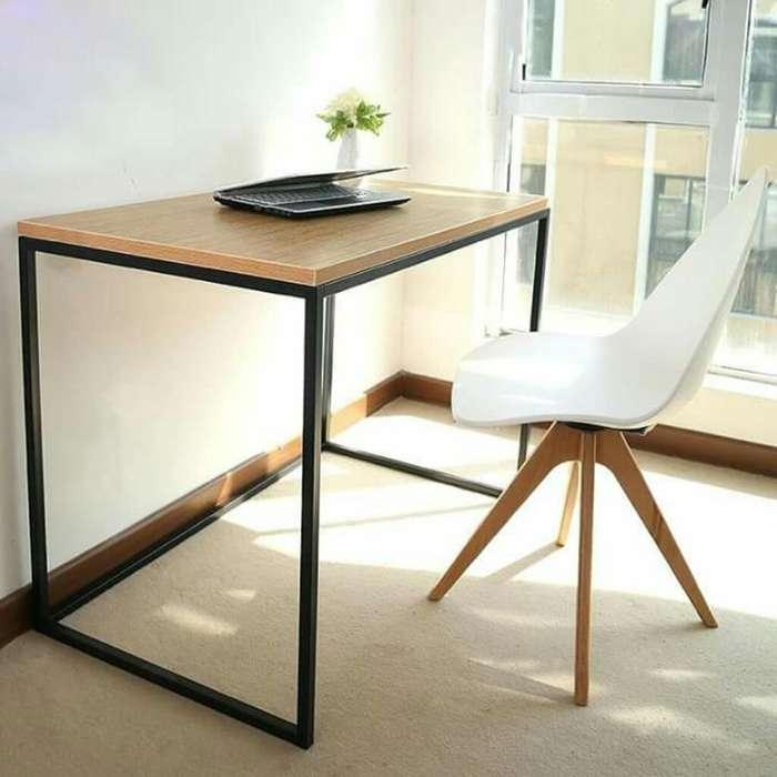 <strong>escritorio</strong> Hierro Y Madera