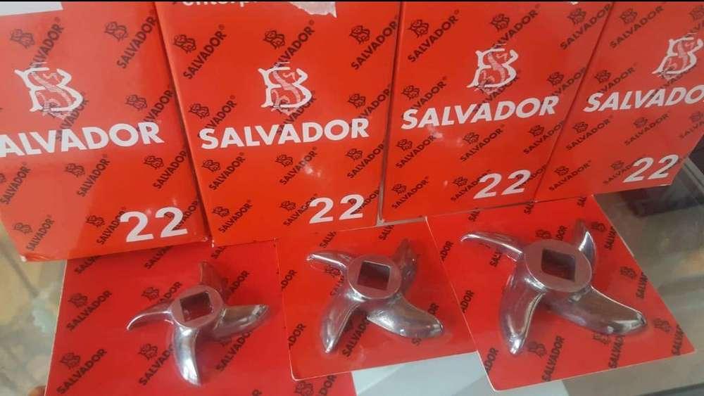 Chuchillas Y Discos para Molino Salvador