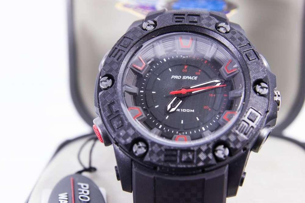 1449cc0dbf1e Reloj Prospace sumergible 100mts gtia 1 año alta resistencia