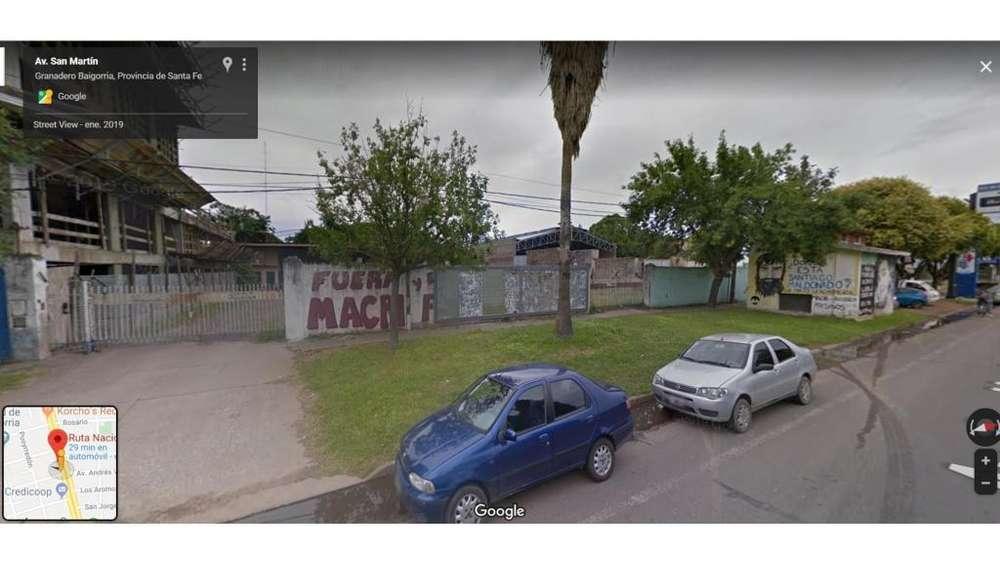 Avenida San Martin 900 - 60.000 - Galpón Alquiler