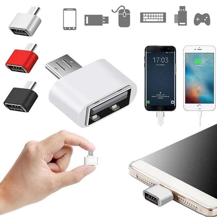 Adapatdores OTG a USB Smartphone -HUANCAYO