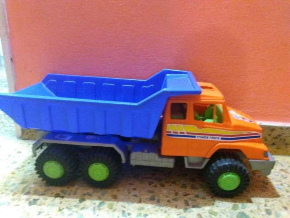 camion grande ideal para niños de 3 a 10 años