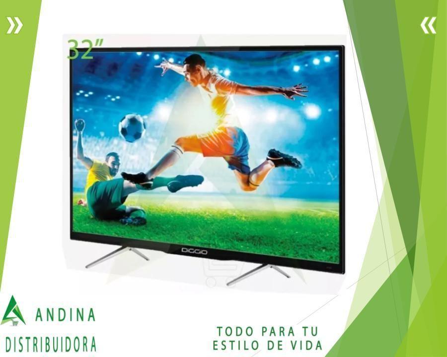 Tv Diggio 32 Smart Android Hd Wifi Soporte Mini Teclado