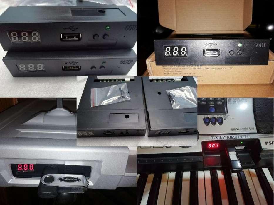 USB Floppy para Teclados