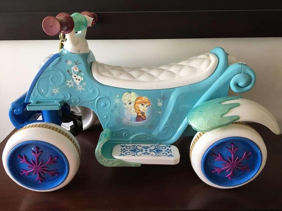 Moto Disney Frozen
