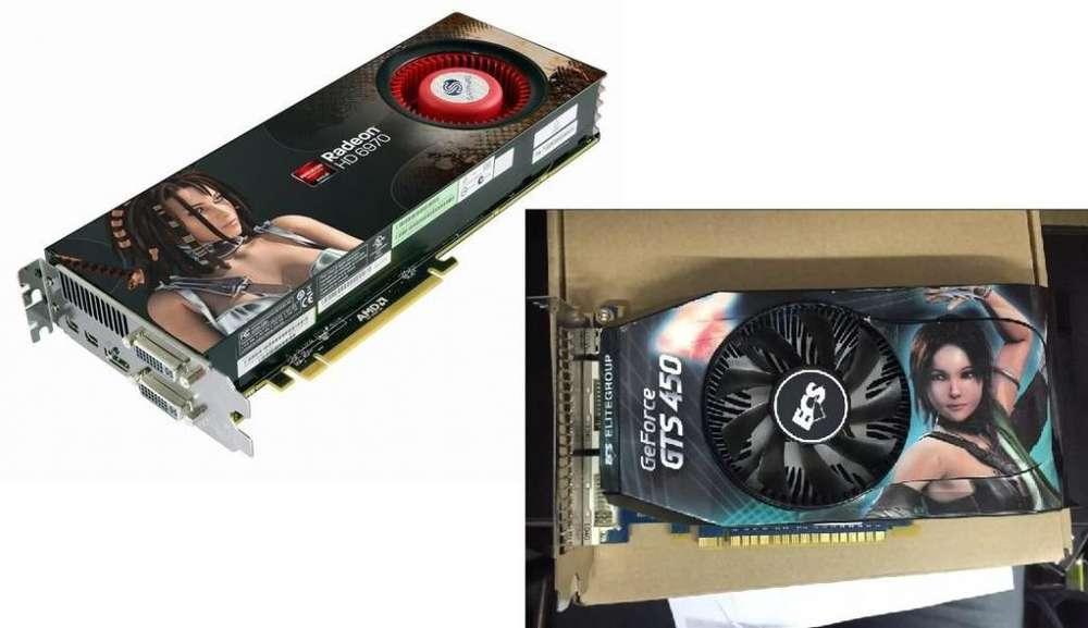 Combo - Gts 450 Radeon hd 6970
