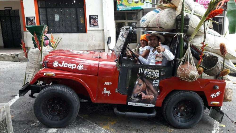 JEEP CJ 1969 - 10000 km