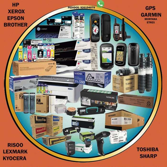 Vendo toner s hp kyocera epson xerox kit brother toshiba canon lexmark sharp risoo,Buen precio.