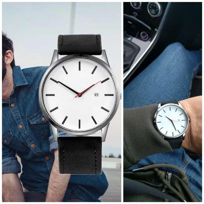 Reloj Fechero Blanco