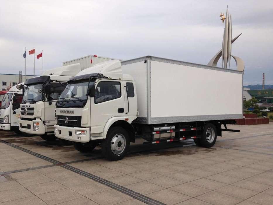 Camión Furgón Shacman de 5 Ton - Liquidación CRESKO