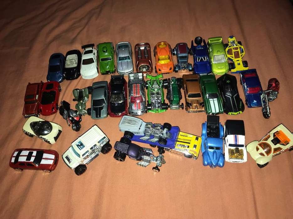 Coleccion de Carros Hot Wheels