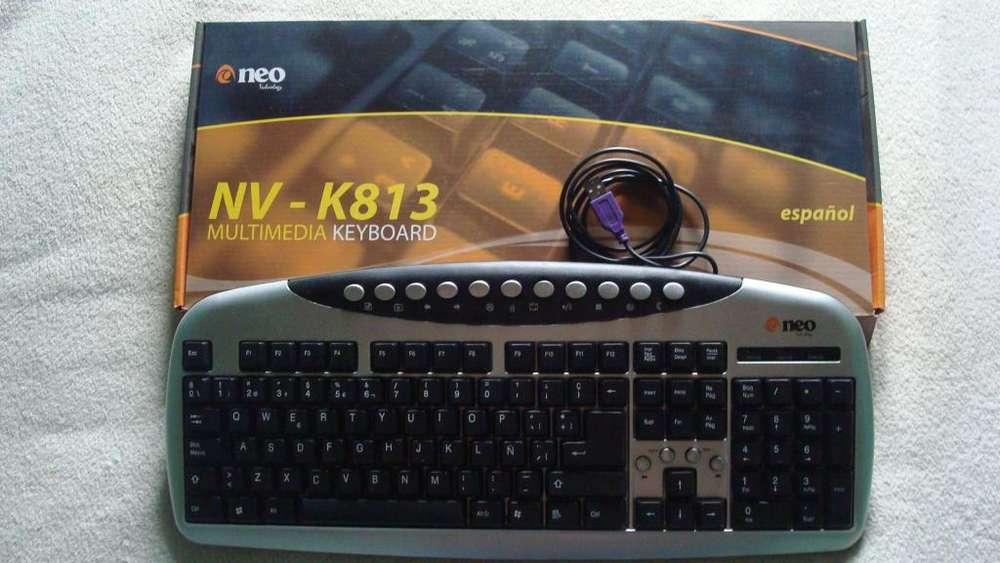 Teclado-neo-nv-k813-multimedia