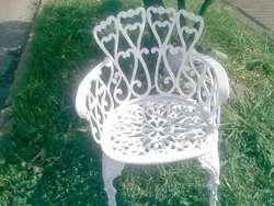 muebles en aluminio
