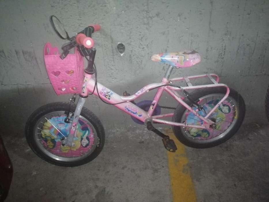 Bicicleta para Niña Rin 16 Esta Funciona