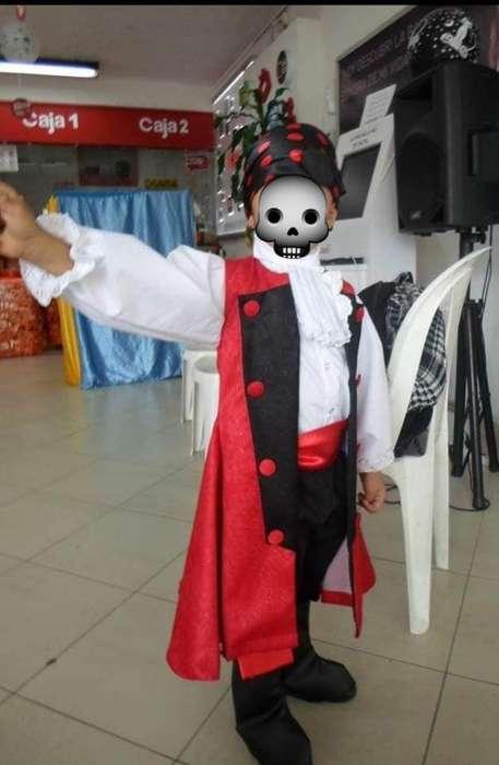 Disfraz de Pirata para Niño Talla 4