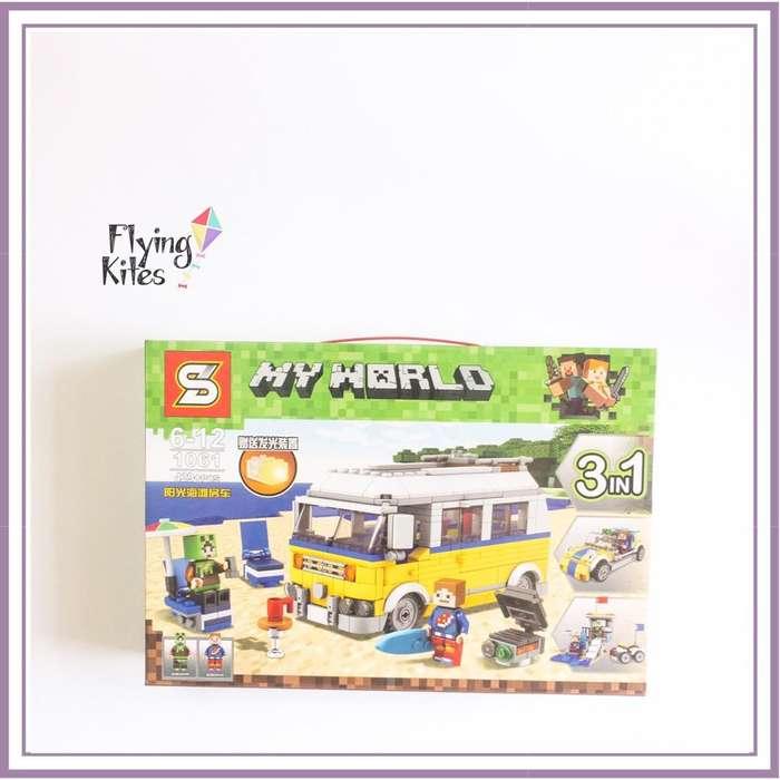 Simil Lego Minecraft 3En1